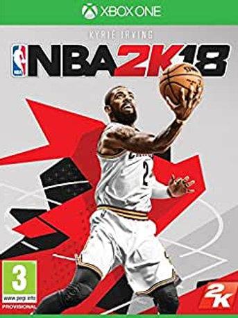 XBOX NBA 2K18