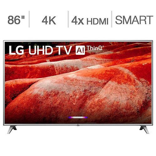 "LG 86"" Class (85.6"" Diag.) 4K Ultra HD LED TV"