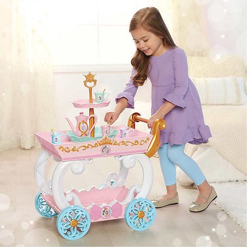 Disney Princess Tea Cart with Tea Play Set