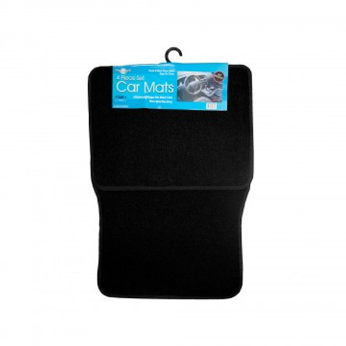 Universal Black Car Mat Set