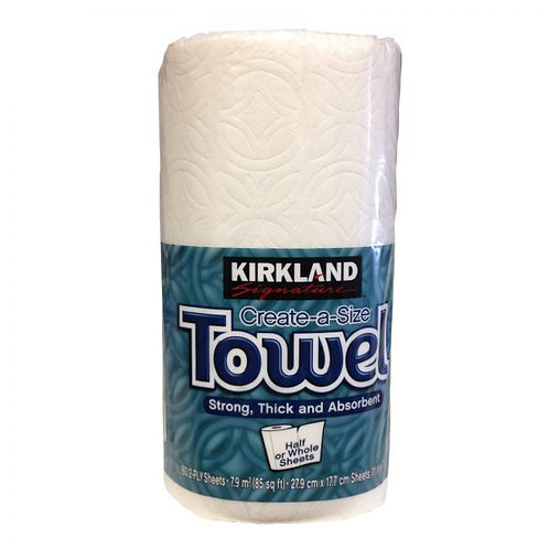 Kirkland Signature Single Roll Paper Towels