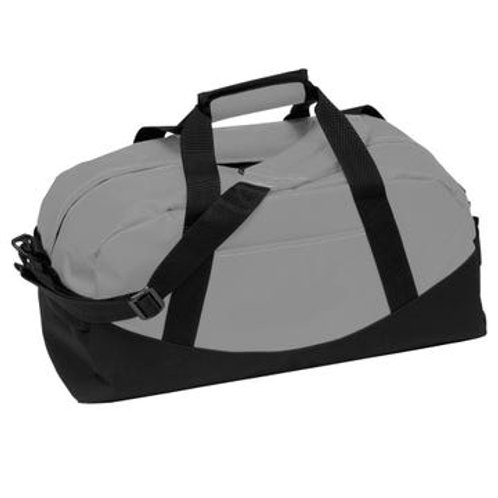 Classic Cargo Duffel Bag in Charcoal Gray
