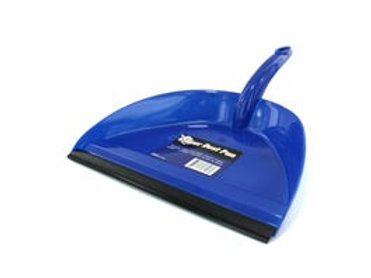 Wide Mouth Dust Pan with Rubber Edge