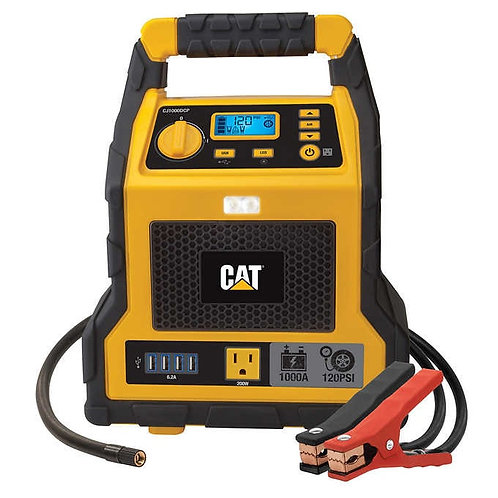 3-in-1 1000Amp CAT Power Station with Jump Starter & Compressor