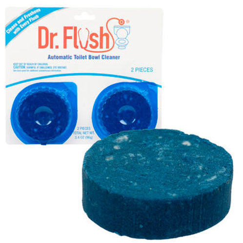 Dr Flush 2pk Automatic Toilet Bowl Cleaner