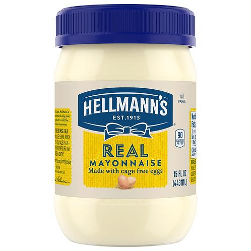 Hellmann's Real Mayonnaise Real Mayo 15 oz