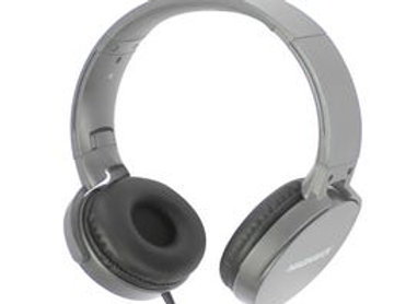 MAGNAVOX Foldable Stereo Headphones in Space Grey