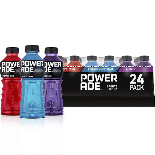 Powerade Sports Drink Variety Pack 20oz / 24pk