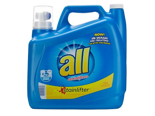 All Stainlifter laundry detergent