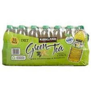 Kirkland Signature Diet Green Tea, Citrus, 16.9 oz, 35 ct