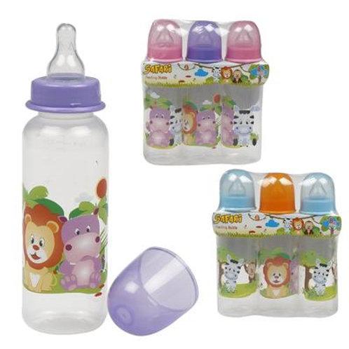 3 Pack Easy grip Baby Bottle