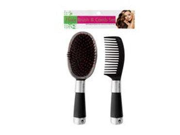 Hair Brush & Comb Set