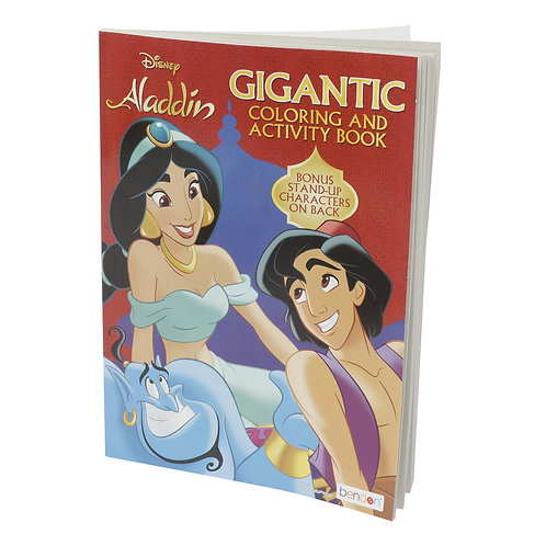 Aladdin Gigantic Coloring and Activity Book