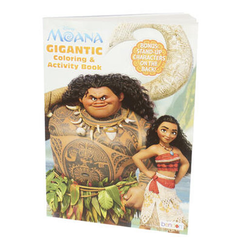 Moana Gigantic Coloring and Activity Book