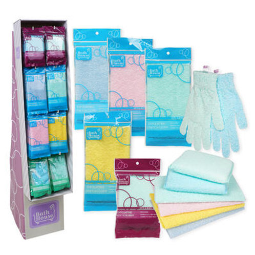 Exfoliating Stretch Cloth- 3 Assortments