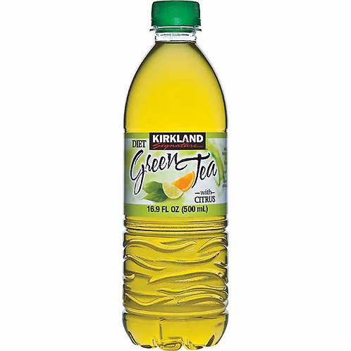 Kirkland Signature Diet Green Tea, Citrus, 16.9