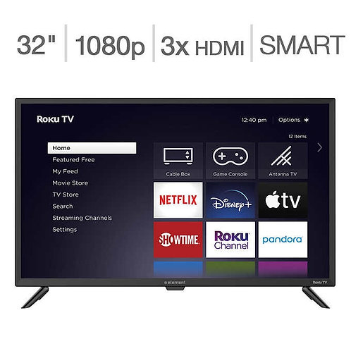 "Element 32"" Class 1080p LED LCD Roku TV"