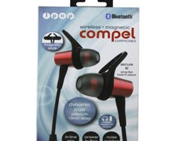 iPop Compel Bluetooth Earphones with Case