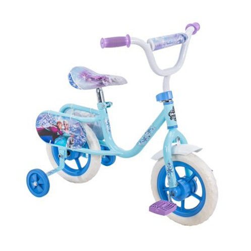 "Huffy 10"" Bike with Training Wheels - Disney Frozen"