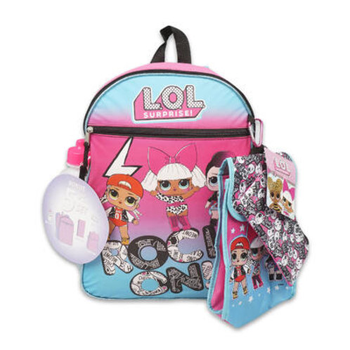 5 Piece LOL Surprise! Backpack Set