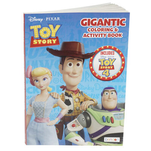 Toy Story 4, Coloring Book