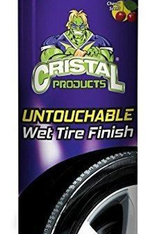 Cristal Products Untouchable Wet Tire Finish, 13 oz