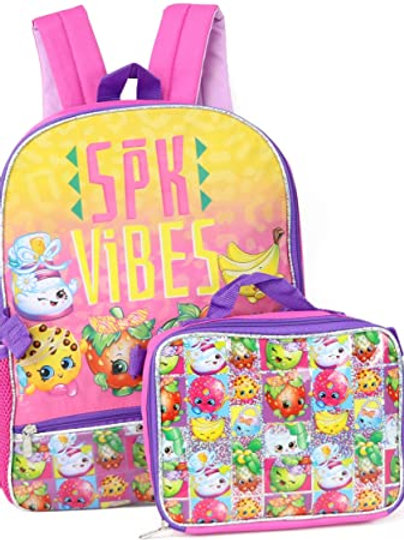 """Backpack 16"""" SPK Vibes With Lunch Box"""