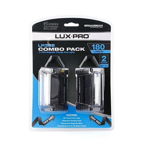 LUX PRO Triangle worklight Combo Pack