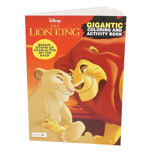 The Lion King Gigantic Coloring and Activity Book