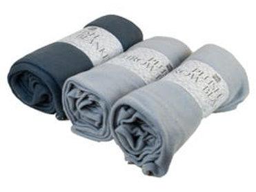 """50""""x 60"""" Fleece Throw Blanket in Assorted Colors"""