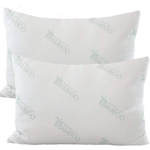 Essence of Bamboo Twin Pack Pillow Jumbo