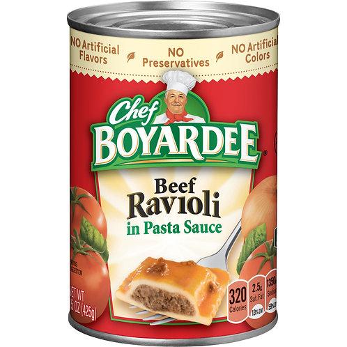 Chef Boyardee Beef Ravioli 15 oz