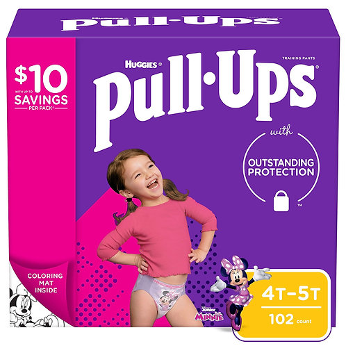 Huggies Pull-Ups Training Pants 4T-5T