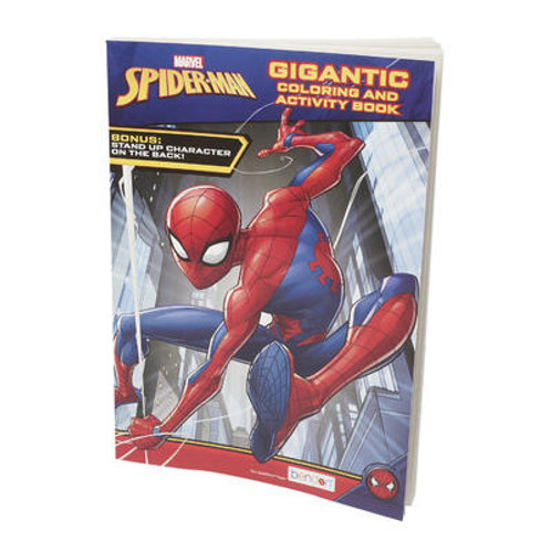 Spiderman Gigantic Coloring and Activity Book
