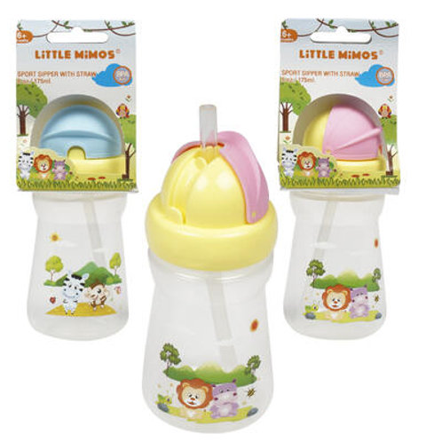 Little Mimos Sports Sipper Cup with Straw