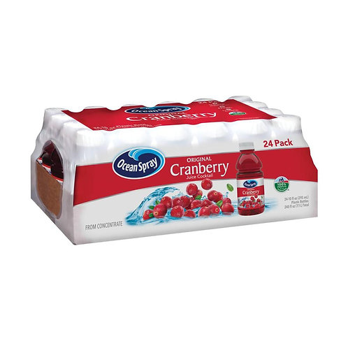 Ocean Spray Cranberry Juice Cocktail- 10 fl. oz. - 24 pk.