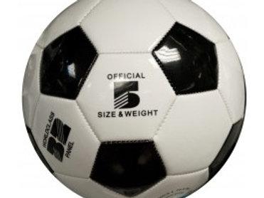 Black & White Glossy Soccer Ball