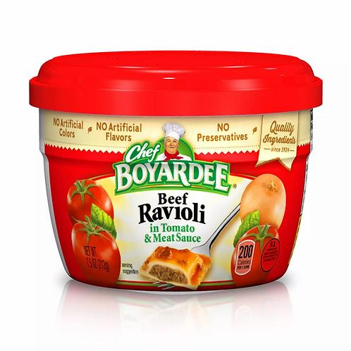 Chef Boyardee Beef Ravioli Cup 7.5 oz