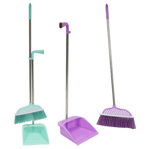 "38"" Broom & Dust Pan Set"
