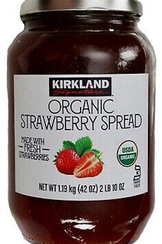 Kirkland Signature Organic Strawberry Spread, 42 OZ