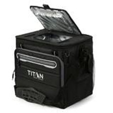 Titan Deep Freeze® 40 Can Collapsible Cooler in Black