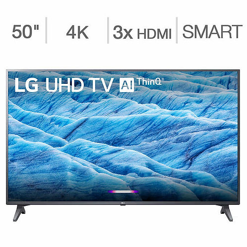 "LG 50"" Class (49.5"" Diag.) 4K Ultra HD LED LCD TV"