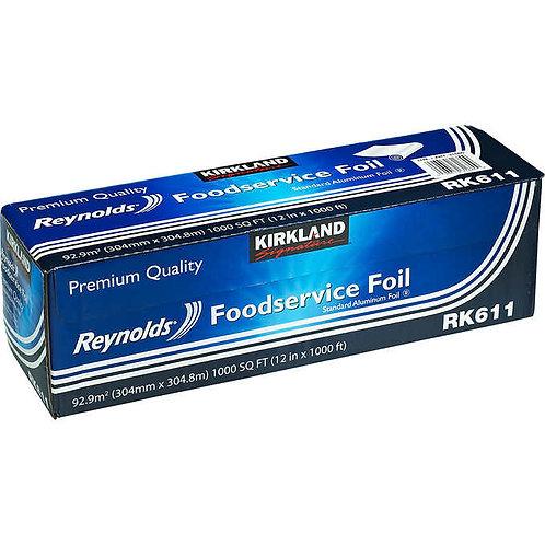 """Kirkland Signature Aluminum Foil, 12""""W x 1000'L"""