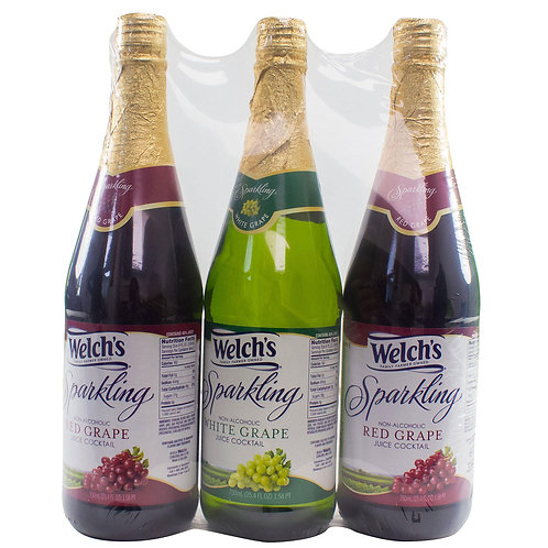 Welch's Sparkling Juice Cocktail Variety Pack