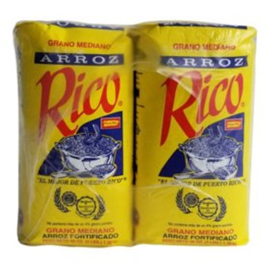 Rico Arroz Rice - 3 lbs. - 10 pk.