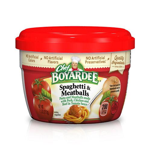 Chef Boyardee Spaghetti & Meatballs in Tomato Sauce 7.5 Oz.