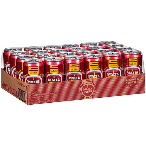 Malta India Malt Beverage 24pk 8oz