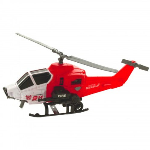 Friction Fire Rescue Helicopter