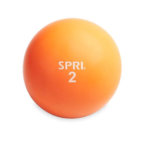 SPRI 2 LB Soft Toning Ball for Exercise