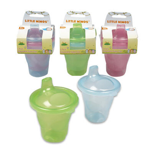 2 Pack 7oz Disposable Sipper Cup